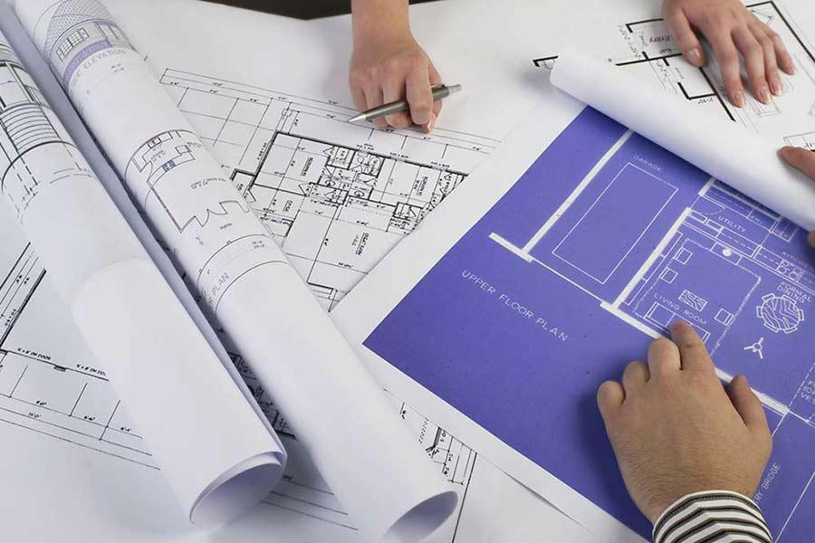 building plans blue prints
