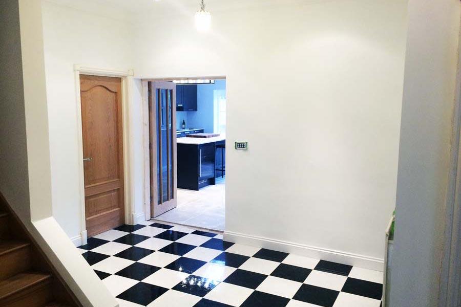check floor tiles