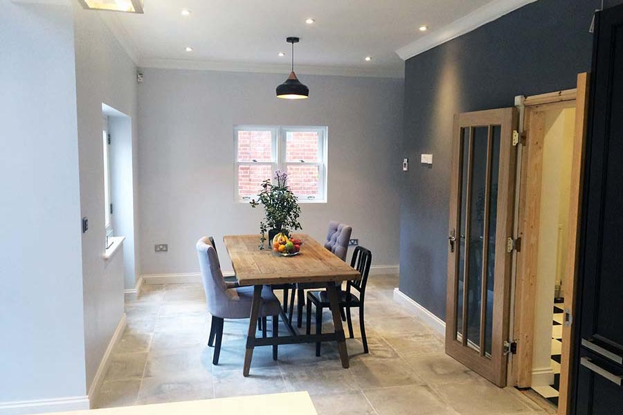 grey dining room Tunbridge Wells