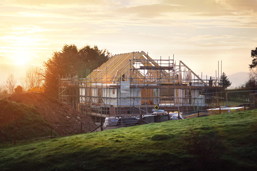 house builder new build home in Kent