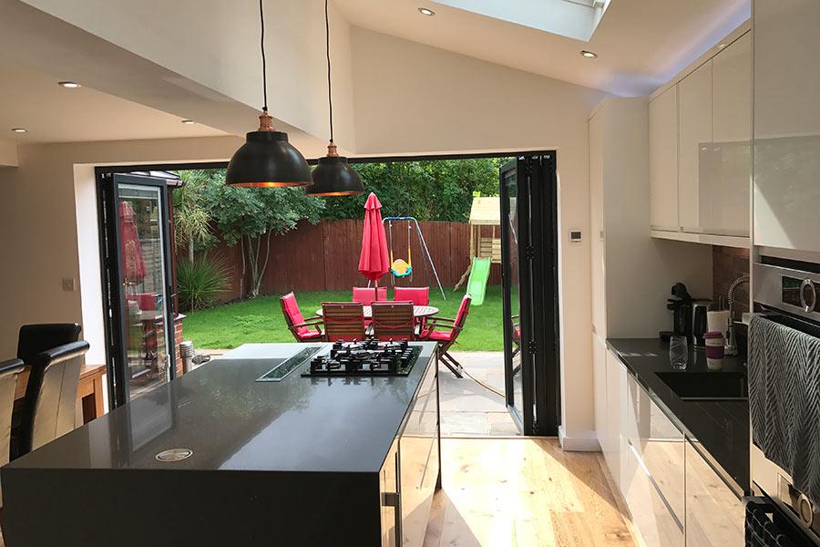Kitchen Extension With Bi Fold Doors Kent Total