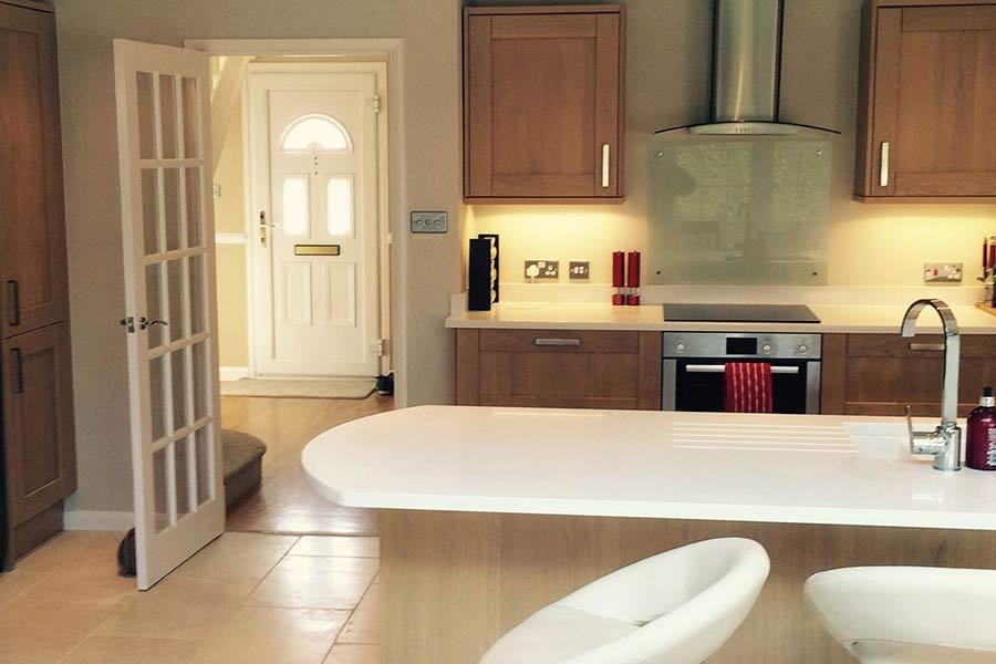 Langton Green Kent kitchen extension