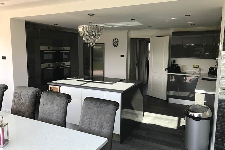 new kitchen extension in Kent
