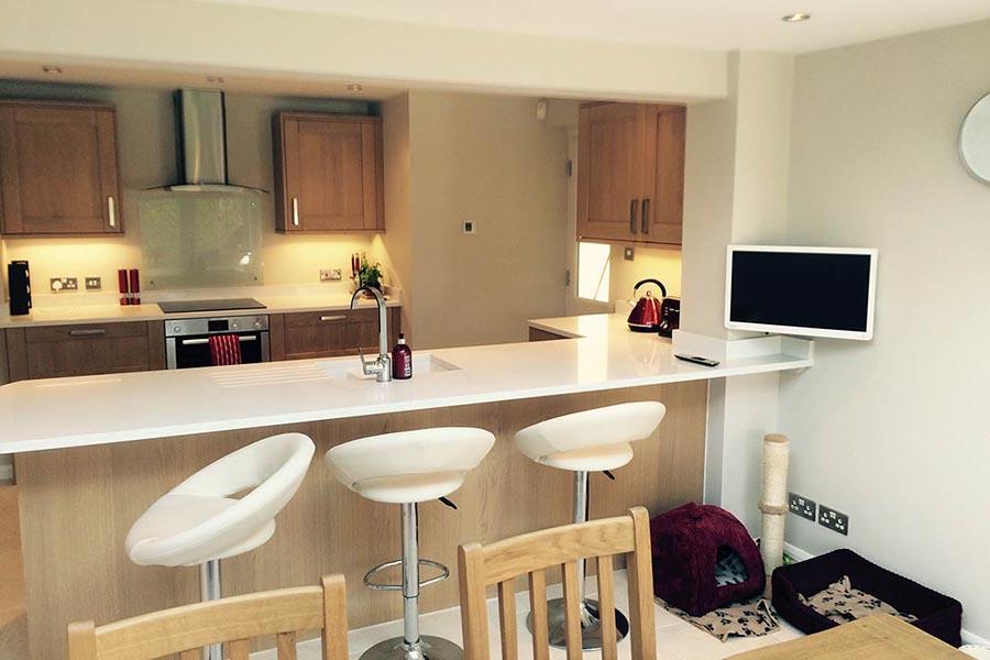 new kitchen in Langton Green near Tunbridge Wells Kent
