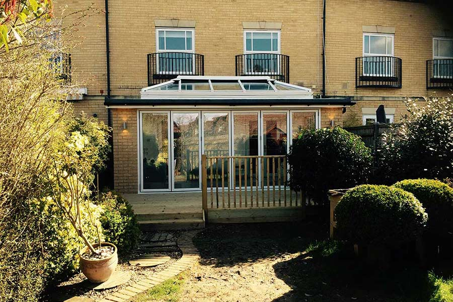 orangery house extension in Kent